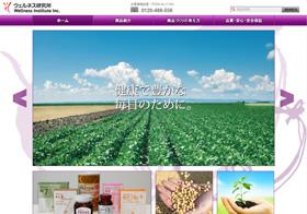 Website「ウェルネス研究所」イメージ